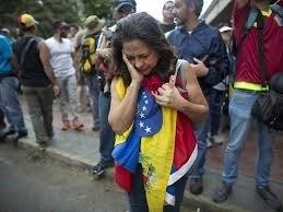 Venezolaner påå flykt